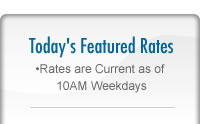 Today''s Featured Rates